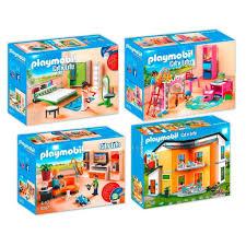 playmobil 9266 67 70 71 modernes wohnhaus set kaufland de
