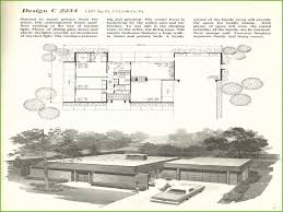 100 Mid Century Modern Home Floor Plans Awesome Models