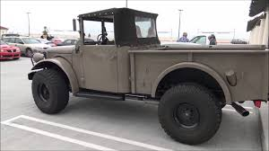 1952 Dodge M37 Military Power Wagon - YouTube Dodge Trucks Craigslist Unusual M37 For Sale Buy This Icon Derelict Take Command Of Your Town 1952 Dodge Power Wagon Pickup Truck Running And Driving 1953 Not 2450 Old Wdx Wc Wc54 Ambulance Sale Midwest Military Hobby 94 Best Images On Pinterest 4x4 Army 2092674 Hemmings Motor News For 1962 With A Supercharged Hemi Near Concord North Carolina 28027 Ww2 Truck Beautifully Restored Bullet Motors M715 Kaiser Jeep Page