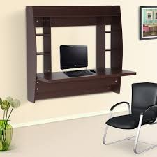 Furinno Simplistic Computer Desk by Homcom Office Computer Table Floating Wall Mount Desk Storage