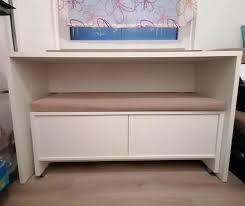 tisch und bank set mit schubladen weiß tchibo