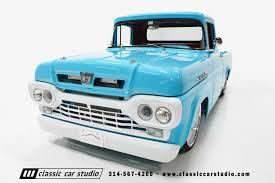 100 1960 Ford Panel Truck F100 Classic Car Studio
