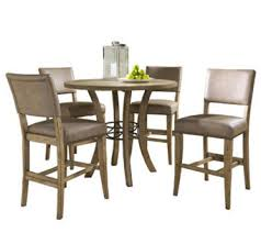 Hillsdale Charleston 5pc Ctr Ht Rnd Dining Setw Parson Chairs