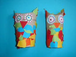 Craft Ideas For Kids With Toilet Paper Rolls Beautiful Kolorowe Sowy
