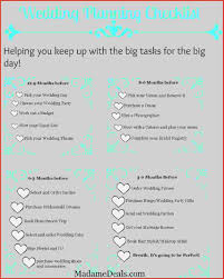 Uploaded By Khair Tsabit Printable Wedding Checklistding Day Checklist From