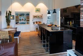 kundenküche saarlouis beaumarais schwarze hochglanzküche