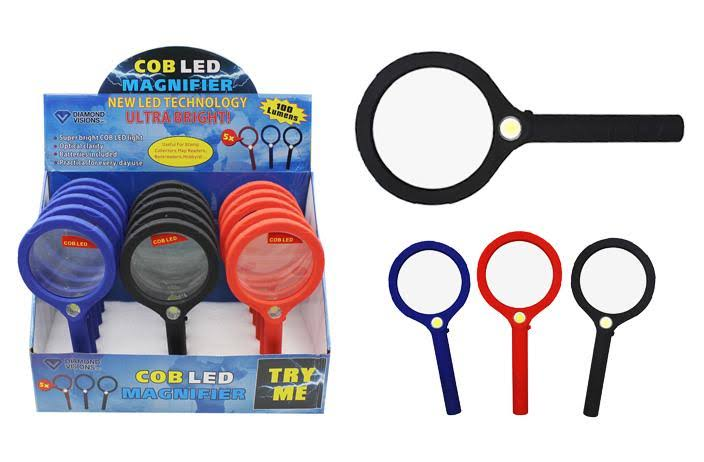 DDI 2125407 COB LED Magnify Glass