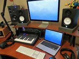 Mac Pro Audio Production Studio Setup