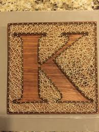 Custom Letter Art Inverse String By ShopAmbiguouS