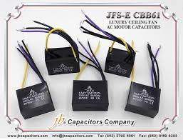 Cbb61 Ceiling Fan Capacitor by Jb Cbb61 Jfs E Luxury Ceiling Fan Ac Motor Capacitors