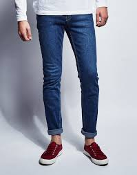 cheap monday tight base dark blue in blue for men lyst