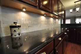 backsplash ideas for black granite countertops kitchen interior