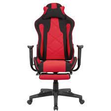 amstyle gaming schreibtischstuhl bezug stoff schwarz rot drehstuhl bis 120 kg