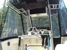 Isinglass Curtains Center Console by Center Console Enclosure Picture Request The Hull Truth