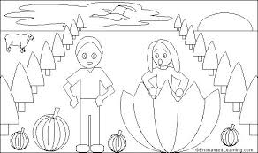 Peter Peter Pumpkin Eater Rhyme Free Download by Peter Walks On Water Coloring Page Funycoloring