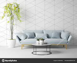 100 Modern Living Room Couches Interior Sofa Furniture Rendering Stock Photo
