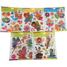 Fairies Room Decor 3d Multilayer Stickers2