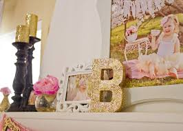 Pink And Gold Birthday Themes by Bridget U0027s Pink And Gold 2nd Birthday Party Project Nursery