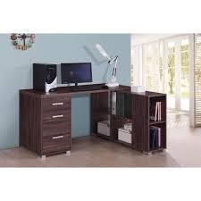 matelpro bureau matelpro bureau d angle contemporain coloris noyer amira l 140 x h