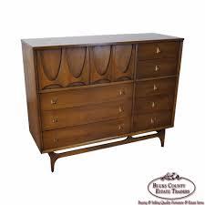 Broyhill Brasilia Dresser With Mirror by Broyhill Brasilia Mid Century Modern Walnut Magna Dresser Chest Ebay