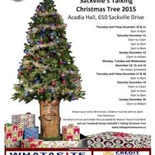Christmas Tree Types Canada by Tinsel Tree Sackville U0027s Talking Christmas Tree Performing Arts