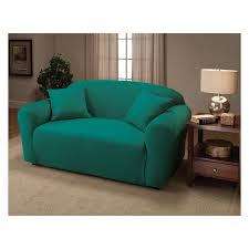 Sofa Cover Target Canada by Decorating Dark Green Stretch Loveseat Cover For Home Furniture Ideas