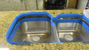 Franke Sink Clips X 8 by How To Install An Undermount Sink To A Granite Countertop Youtube