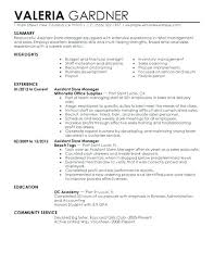 Automotive Parts Manager Resume Sample Assistant Store Example Auto Good Likewise