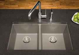 blanco 516322 30 inch undermount double bowl granite sink with 8