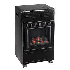 poêle à gaz effet flamme butagaz 3400 w castorama