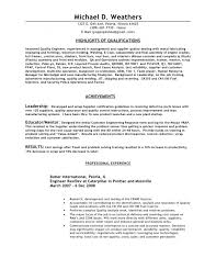 Download Now Contemporary Qa Lead Resume Summary Motif Example Of Quality Assurance Manager
