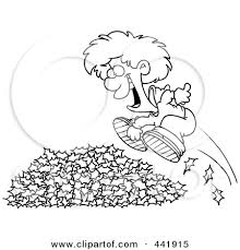Free clipart black and white kids hopping
