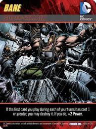 dc comics deck building game forever evil bane super villain