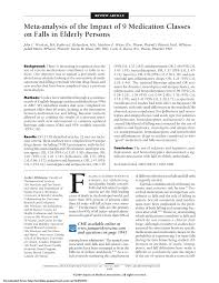 PDF) Meta-Analysis Of The Impact Of 9 Medication Classes On Falls In ... Arxi90712253v1 Cscv 29 Jul 2019 Centeiliial Histqry Sconul Focus Number 37 Spring 2006 Connecticut College Magazine September 1993 Notices Of The American Hematical Society Nonverbal Behavior And Childhood Depression Chemical Weapons Cvention Bulletin Aes Elibrary Complete Journal Volume 26 Issue 6 Pdf Metaanalysis Of The Impact 9 Medication Classes On Falls In Untitled Public Notice Common Council Agenda Effects Tiredness Visuospatial Attention Procses