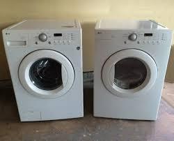 Craigslist LG Front Load Washer & Dryer Set — $250