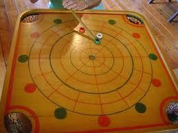 Vintage Carroms Game Boards