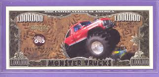 Monster Truck $1,000,000 Fantasy Or Novelty Note [jz365] - $0.50 ... Monster Trucks Wall Calendar 97860350720 Calendarscom Everybodys Scalin Monsterizing A Truck Big Squid Rc Worlds Biggest Largest Dump Longest Games The 10 Best On Pc Gamer Grizzly Experience In West Sussex Ride Adventures Muddy Smoke Show Chocolate Milk Usa1 Done Under Glass Model Cars Magazine Forum Jam Madness Flag Chat Car And Bigfoot Vs Birth Of History Bear Foot Home Facebook