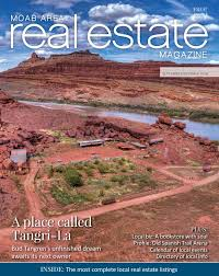 100 Homes For Sale Moab Area Real Estate Magazine SeptemberOctober 2018 By Area