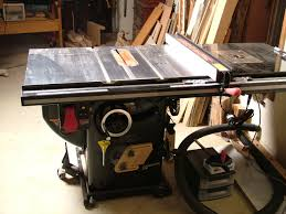 Sawstop Cabinet Saw Outfeed Table by Shop Upgrade Sawstop Table Saw