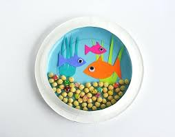 Art And Crafts Ideas For Kids Using Paper Plates World Of Example Craft Easy Fun Plate