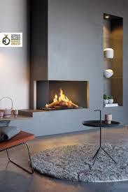 german design gewinner 2020 visio gas kamin wohnzimmer
