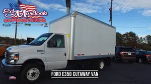 2017 Ford E-350 Used Box Truck For Sale At Ed Murdock Superstores ...
