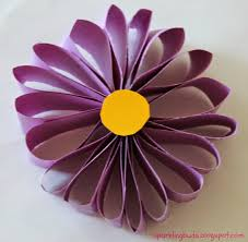 How To Make A Simple Flower With Paper