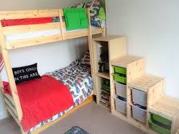 ikea bunk bed stairs hack ikea trofast steps with ikea besta and