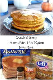 Pumpkin Puree Vs Easy Pumpkin Pie Mix by And Easy Pumpkin Pie Spice Pancakes