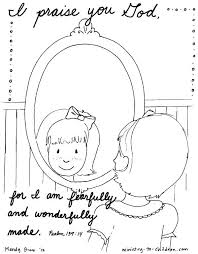 Free Bible Verse Coloring Pages Psalm 139 Page