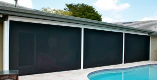 Titan Garages And Sheds by Titan Screens Motorized Retractable Screens Expand Your Living