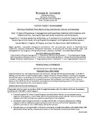Sample Resume For It Kitchen Staff Department Manager Example High
