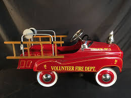 VINTAGE VOLUNTEER FIRE DEPT. TRUCK NO. 1 PEDAL CAR, BY GEARBOX PEDAL ... A Late 20th Century Buddy L Childs Fire Truck Pedal Car Murray Fire Truck Pedal Car Vintage 1950s Jet Flow Drive City Fire Amf Fighter Engine Unit No 508 Sold Childs Metal Rescue Truck Approx 1m In John Deere M15 Nashville 2015 Baghera Childrens Toy 1938 Antique Engine Fully Stored Padded Seat 46w X Volunteer Department No8 Limited Edition No Generic Firetruck Stock Photo Edit Now Amazoncom Instep Toys Games These Colctible Kids Cars Will Be Selling For Thousands Of