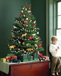 Saran Wrap Christmas Tree With Ornaments by Gift Wrapping Ideas Martha Stewart